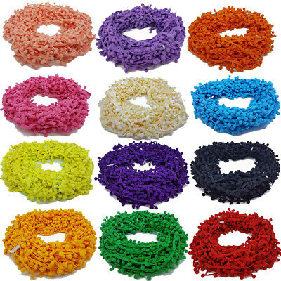 5 Metres Pom Pom Trim Trimming Sewing Craft Per Metre 10mm Bobble Fringe Pompom • 4.99£