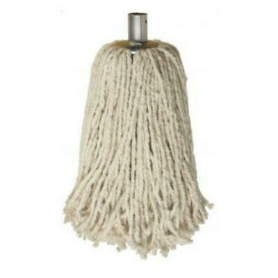 £6.98 • Buy High Quality - X1 Large Size Cotton Mop Heads Galvanized Socket Ultra Heavy Duty