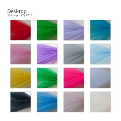 Dress Net Tutu Tulle Fabric Flare Free 150cm Wide 30+ Colours & Volume Discounts • 2.49£