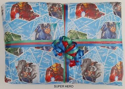 £11.99 • Buy Superhero Pass The Parcel BOYS 10/12/15 Layers+ Main Prize Party Games Readymade