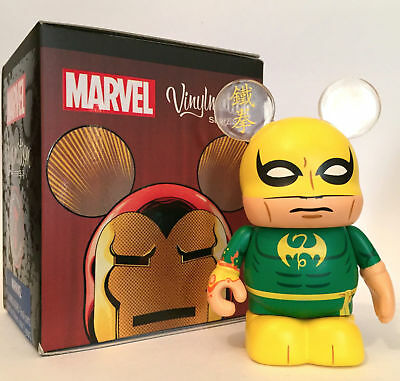 Disney Parks Marvel Vinylmation Series 3 Iron Fist W/ Box And Bag • 10.94£