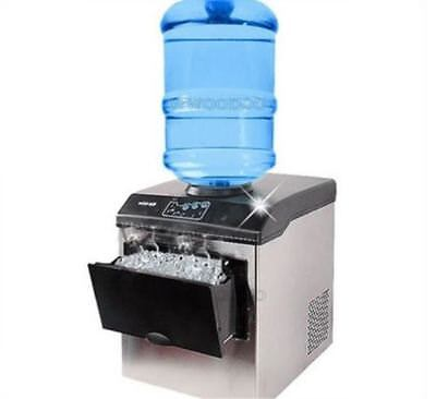 Commercial Ice Cube Maker Machine Bullet Round Ice Ice Block Making Factory M Ll • 569.70£