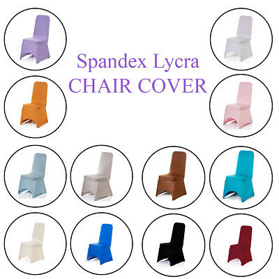£201.19 • Buy Dining Room Chair Covers Spandex Lycra Cover Wedding Banquet Anniversary Party
