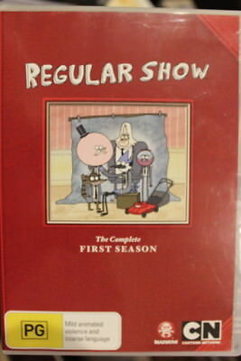 Regular Show Complete First Season One Rare Deleted Dvd Animation Cartoon Series • 16.49£