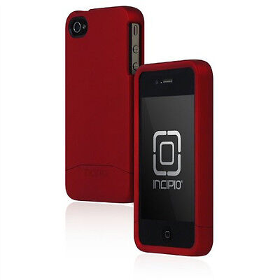 £26.87 • Buy Incipio Apple IPhone 4 4S Edge Pro Hard Cover Shell Slider Carrying Case Red