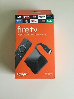 AU143.28 • Buy Amazon - Fire TV Stick With 4K Ultra HD And Alexa Voice Remote - Black