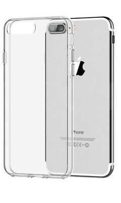 £2.32 • Buy Apple IPhone 8 Plus Case High Quality Slim TPU Clear Gel Transparent Cover
