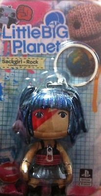 £7.99 • Buy Sony Ps Official - Little Big Planet – 2 Inch Keyring Zip Pull – Sackgirl - Rock