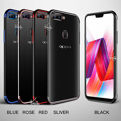 AU6.49 • Buy Plating Gel Stylish TPU Case Cover For Oppo AX5 AX7 A73 R15 R17 Pro R11S Plus