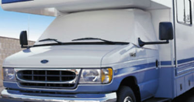 $59.99 • Buy ADCO 2401 Windshield RV Cover White Snooze Bonnet Privacy Window Shade