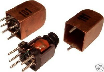 3pcs Variable Inductor RF Coil 45uH - 100uH Litz Wire Ham Radio Hobby (= Toko) • 3.57£
