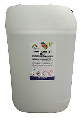 £49.99 • Buy Azure Hydrochloric 36.2% Strong & Effective - 25L * THIS IS COLLECTION ONLY *