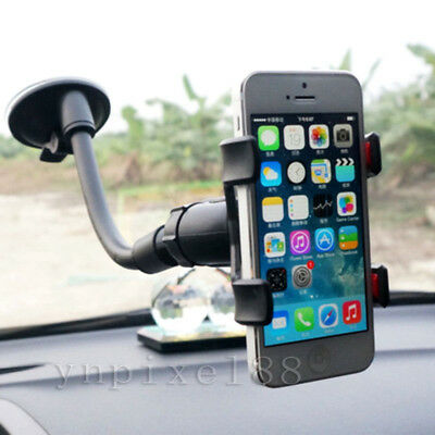 $6.62 • Buy Car AUTO ACCESSORIES Rotating Phone Windshield Stand GPS Holder Universal 360°