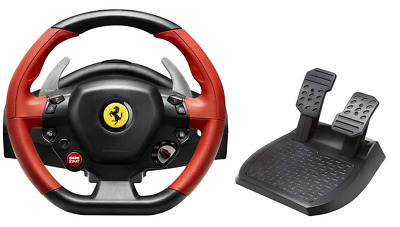 $418.51 • Buy Xbox One Steering Wheel Controller Driving Pedals Racing Video Game 458 Ferrari