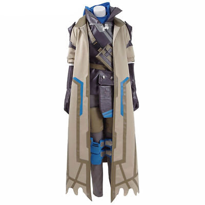 AU273.71 • Buy Overwatch OW Ana Captain Amari Cosplay Costume All Size Halloween Clothes Unisex