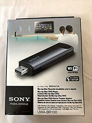 $ CDN175.44 • Buy SONY BRAVIA USB Wireless LAN Adapter UWA-BR100 Expedited Shipping Used