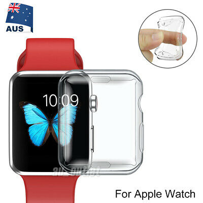 AU3.95 • Buy Sports Silicone Case For Apple Watch 1 2 3 - 38mm 42mm IWatch Protective Cover