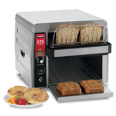 Waring  (CTS1000) 450 Slices/Hr Commercial Conveyor Toaster • 600.95$