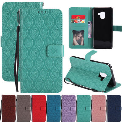 AU16.55 • Buy Pattern Magnetic Leather Flip Stand Wallet Case Cover For Samsung Galaxy Phones