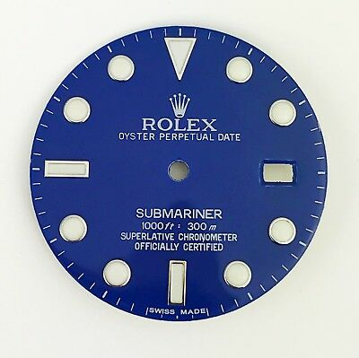 $ CDN258.12 • Buy For Rolex Submariner Stainless Steel Ceramic Blue Color Dial