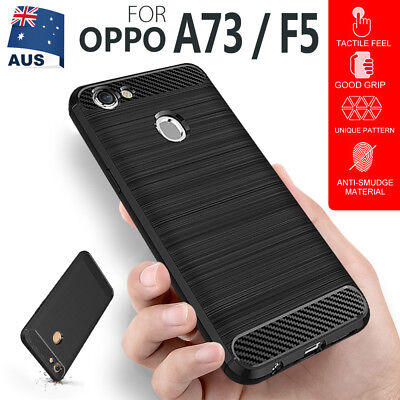 AU6.29 • Buy For OPPO A73 / F5 / R11S Case, Shockproof Soft TPU Heavy Duty Bumper Case Cover