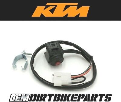 $61.34 • Buy KTM Start Switch Ignition Button Wiring Electric OEM Genuine Handlebar Control
