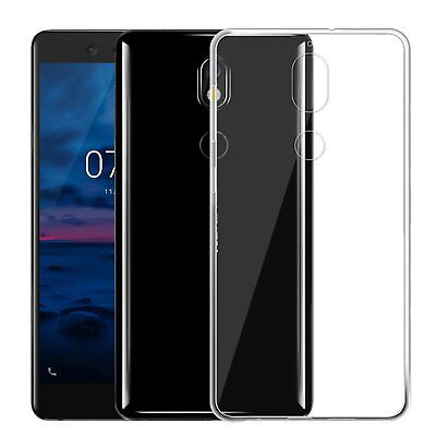 AU7.95 • Buy Soft Gel Clear Transparent Shockproof Case Cover For Nokia 7 Plus 6 2018