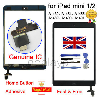 £7.99 • Buy For IPad Mini 1 2 A1432 A1454 A1455 A1489 A1490 A1491 Black Replacement Screen