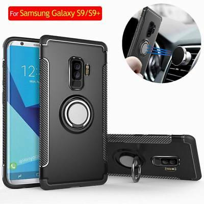 $ CDN6.16 • Buy For Samsung Galaxy S10 S9 Plus S8 Shockproof Hybrid Ring Holder Hard Stand Case