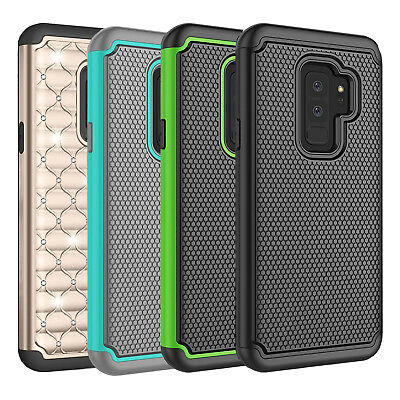 $ CDN6.99 • Buy Fits Samsung Galaxy S9 Plus Case Shockproof Rugged Hybrid Impact Rubber Cover