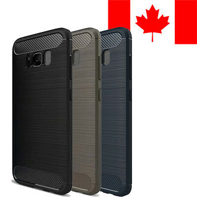 $ CDN7.49 • Buy Brushed Soft Case Cover For Samsung Galaxy A5 S6 S7 S8 S8+ S9 S9+ Edge Note 8