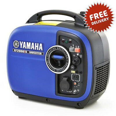 AU2099 • Buy Genuine YAMAHA GENERATOR EF2000is Silent Inverter OHV 4 Stroke FREE POST
