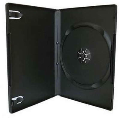 AU12.30 • Buy 4mm 7mm 14mm Black Clear Single Double Triple Quad Holds 3 4 5 6 DVD Cover Case