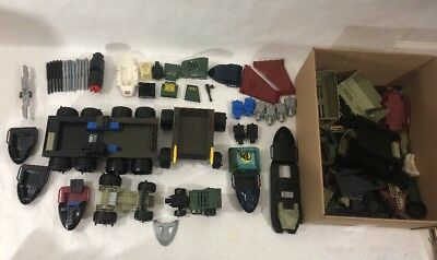 $ CDN87.09 • Buy Lego- Vintage Lego Lot—GI Joe Boat, Vehicles, Missiles & Missile Launcher +