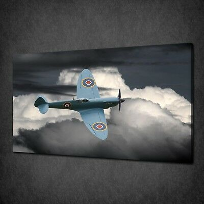 £24.49 • Buy Supermarine Spitfire Canvas Picture Print Wall Art Home Decor