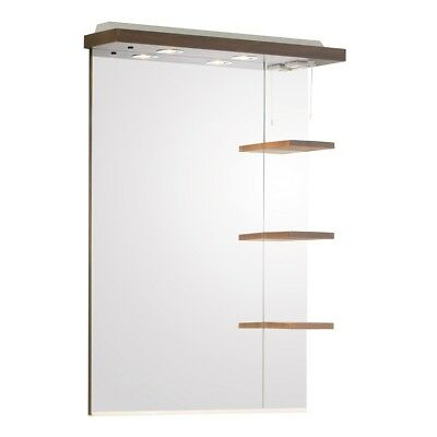 £150 • Buy Roper Rhodes  Signatures  Illuminated Canopy Mirror With Shelves, Walnut SGM7AW