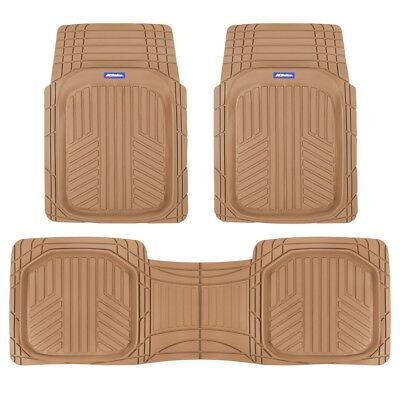 $29.50 • Buy ACDelco Deep Dish Rubber Car Floor Mats - All Weather Heavy Duty Beige Liners