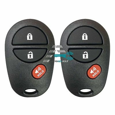 $ CDN20.21 • Buy 2 NEW Replacement For 2007-2017 TUNDRA Keyless Entry Remote Control GQ43VT20T