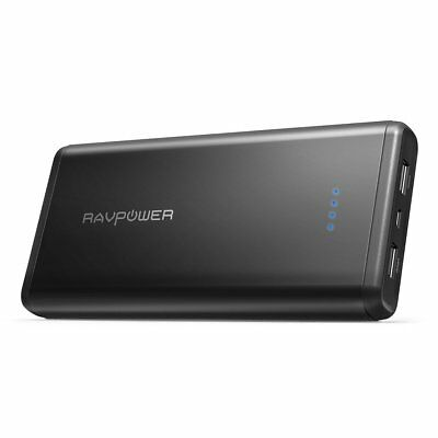 AU65.27 • Buy Portable Chargers RAVPower 20000mAh USB Battery Pack With Dual USB 3.4A Output
