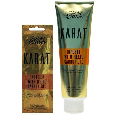 £19.99 • Buy Body Butter Karat With Carrot Oil Tanning Accelerator Sunbed Lotion Cream