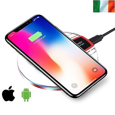 $ CDN9.32 • Buy Qi Wireless Charger Charging Dock Pad For Samsung Galaxy Apple IPhone X S8