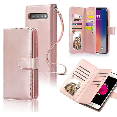 AU22.99 • Buy 2 In 1 Samsung Galaxy Note 8 Wallet Case+Shockproof Slim Detachable Cover F Girl