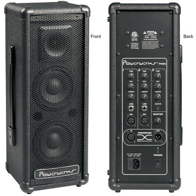 $149.99 • Buy PowerWerks 50 Watt Self-Contained Personal P.A. System