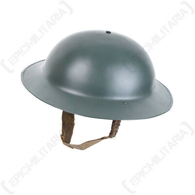 British Brodie Helmet - WW1 WW2 Doughboy Army Military Soldier Uniform Repro New • 54.95£