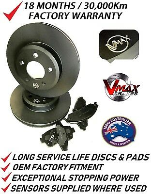 AU179.76 • Buy Fits NISSAN Maxima J30 1990-1994 FRONT Disc Brake Rotors & PADS PACKAGE
