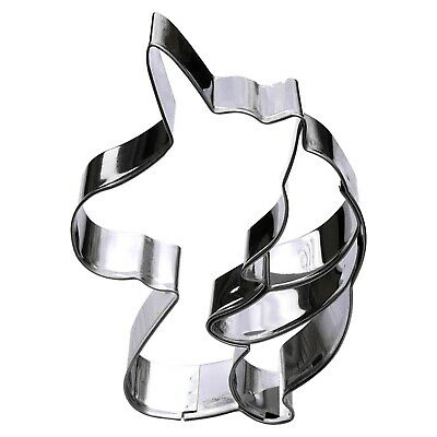 AU12.86 • Buy Unicorn Head Cookie Cutter - Stainless Steel