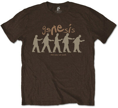 Genesis 'The Way We Walk' (Brown) T-Shirt - NEW & OFFICIAL! • 13.29£