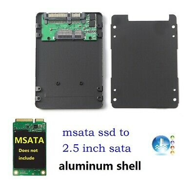 AU13.18 • Buy MSATA SSD To 2.5 Inch SATA 3 Adapter Card With 7mm Aluminium Thickness Case