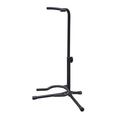 $ CDN15.86 • Buy New Jersey Sound Corp Floor Standing Electric Guitar Stand With Tripod Base