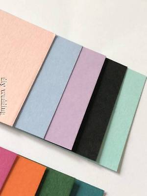£3.95 • Buy 10 A4 Sheets Of Card Stock 250gsm *YOU CHOOSE COLOUR* Craft Card, Cardmaking